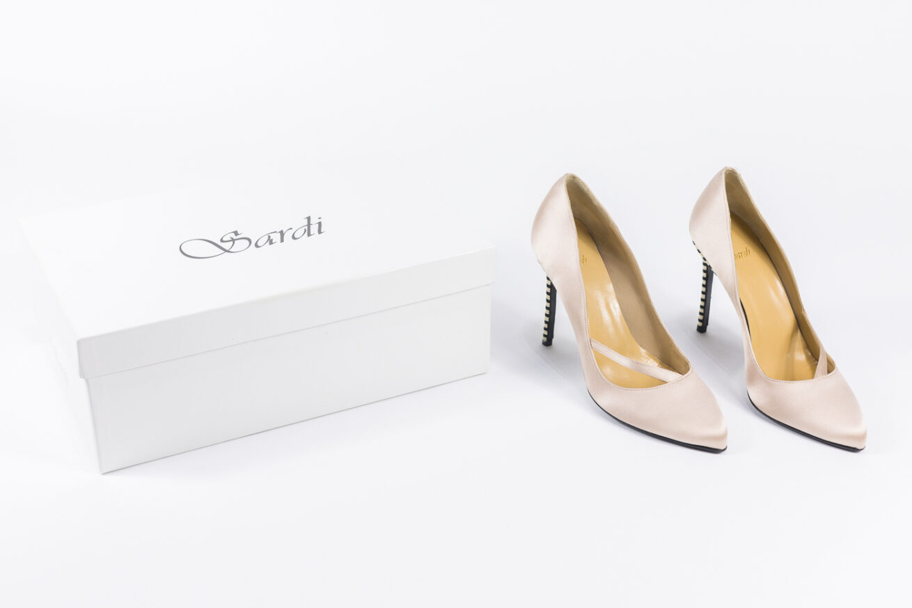 Sardi Shoes Donna Tacco Zebrato