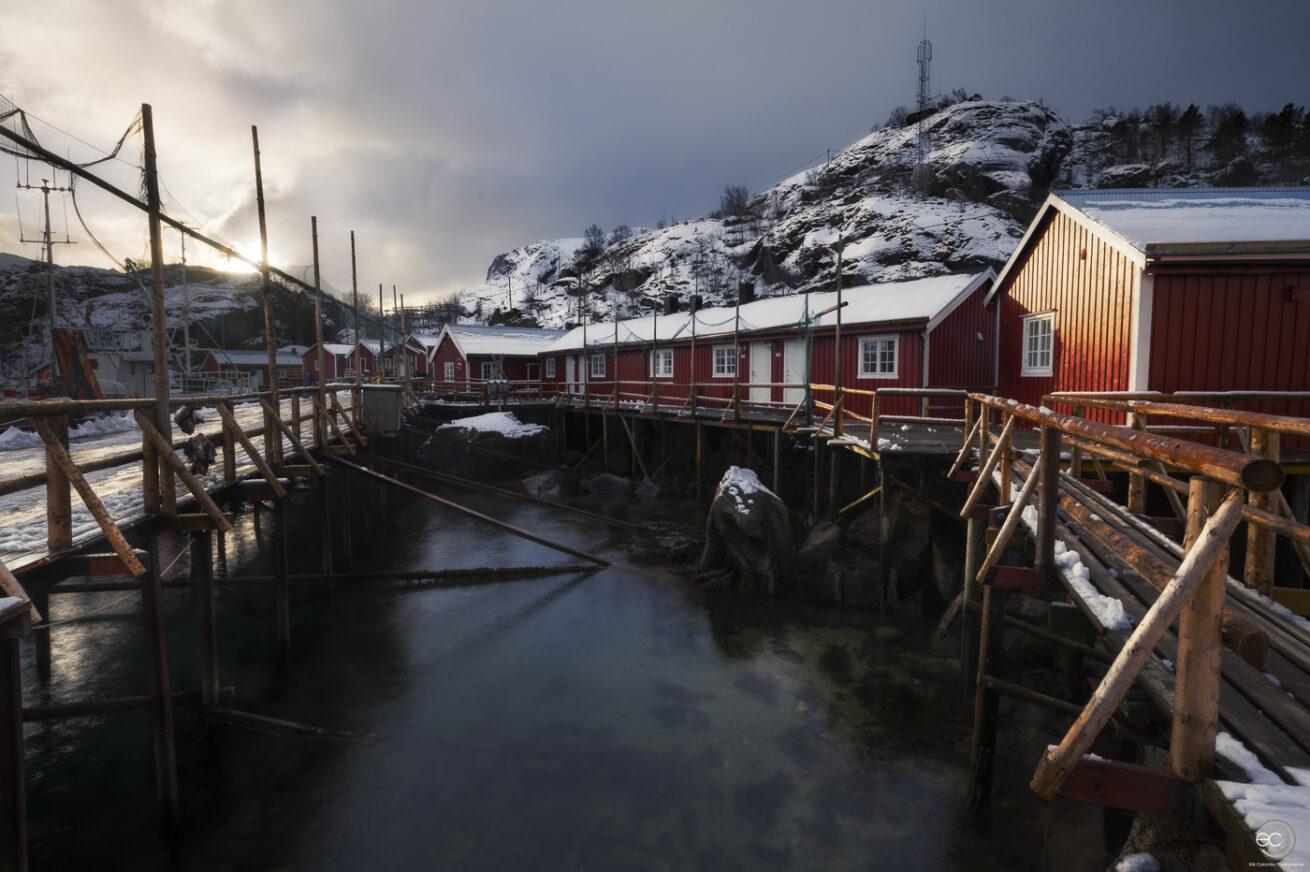 Nusfjord - Tramonto